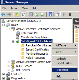 Vsphere 5 certificates 1 installing a root certificate right click and select properties and then click on view certificate which will show you the certificate details yadclub Images